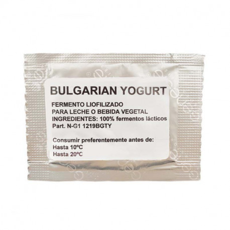 Fermentos para yogur búlgaro